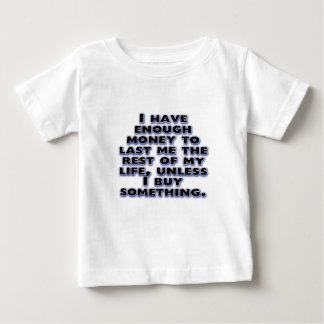 Humoristiska citationstecken om pengar tröja