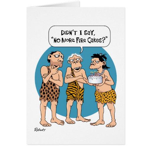 Humoristiskt 50th födelsedagkort kort