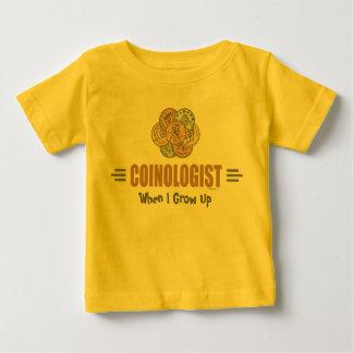 Humoristiskt mynta samlaren tshirts