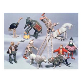 Humpty Dumpty cirkusakrobater och menagerie Vykort