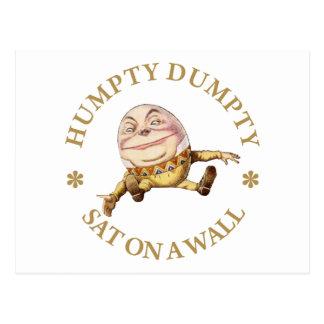 HUMPTY DUMPTY SAT PÅ EN VÄGG VYKORT
