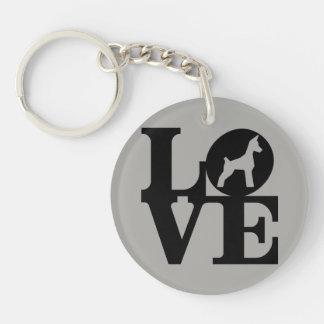 Hund älskare Keychain