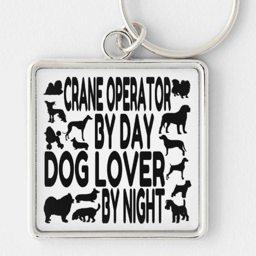 Hund älskarekranförare nyckelringar