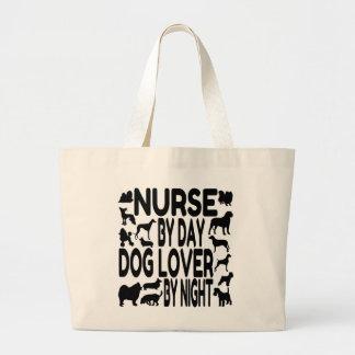 Hund älskaresjuksköterska jumbo tygkasse