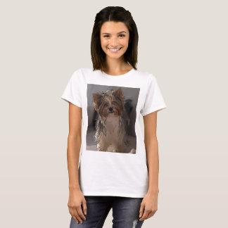 Hund älskareversiontecknad (003) t shirt