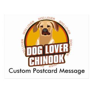 Hund aveln för personlighund älskareChinook Vykort