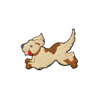 Hund broderad design