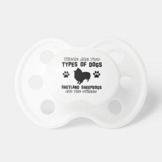 hund design för shetland sheepdog napp