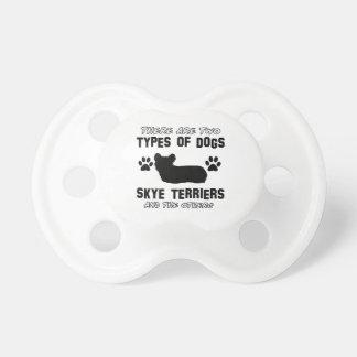 hund design för skyeterrier napp