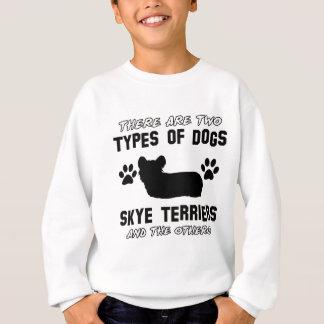 hund design för skyeterrier tee shirt