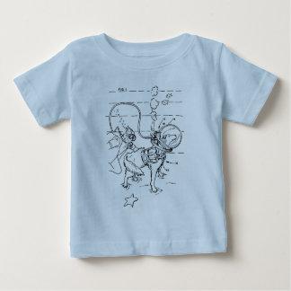 Hund- dykaapparatur tee shirt