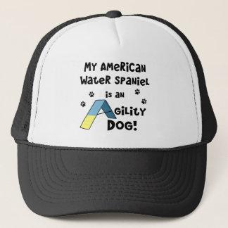 Hund för Agility för amerikanvattenSpaniel Truckerkeps
