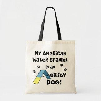 Hund för Agility för amerikanvattenSpaniel Tygkasse