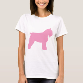 Hund för Bouvier des Flandres (i rosor) Tröjor