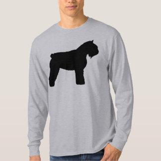 Hund för Bouvier des Flandres (i svart) T Shirts