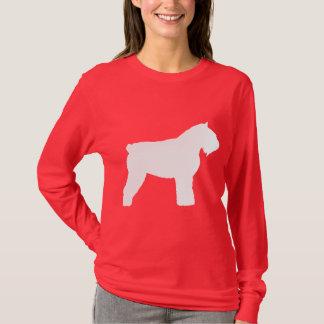 Hund för Bouvier des Flandres (i vit) T Shirt