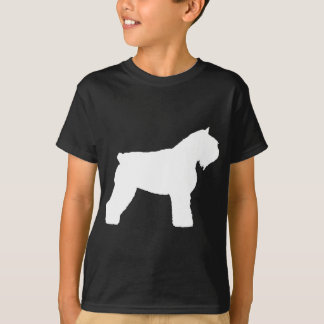 Hund för Bouvier des Flandres (i vit) Tröja