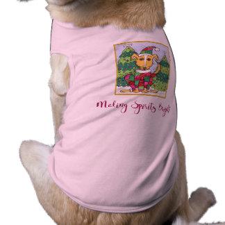 Hund för dräkt för husdjur för helgdag för gulliga husdjurströja