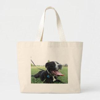 Hund för för APBT-amerikansymbol & familj Jumbo Tygkasse