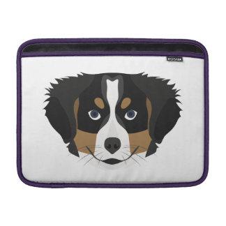 Hund för illustrationBernese berg Sleeve För MacBook Air