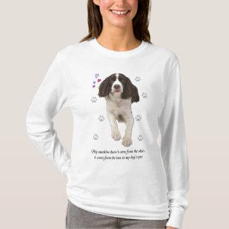 Hund för Spaniel för engelsk Springer T Shirts
