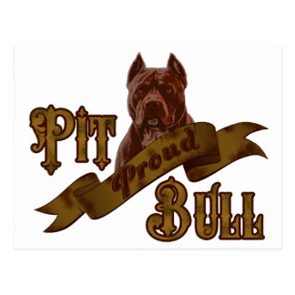 Hund för Terrier för amerikangroptjur Vykort