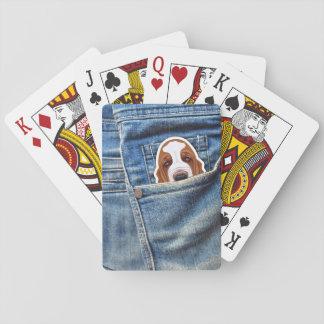 Hund i mitt fick- spelkort