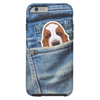 Hund i mitt fick- tough iPhone 6 skal