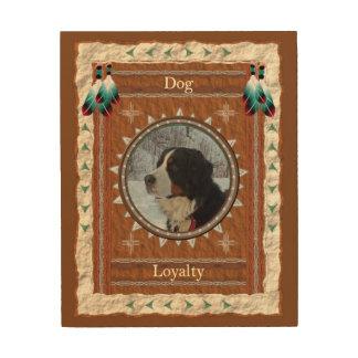 Hund - LojalitetTrätavla Trätavla