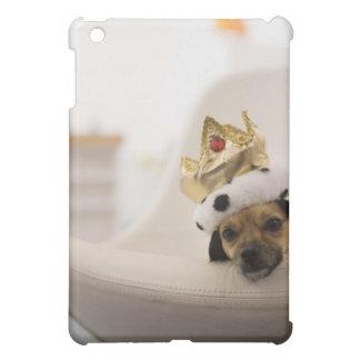 Hund med en krona iPad mini mobil fodral