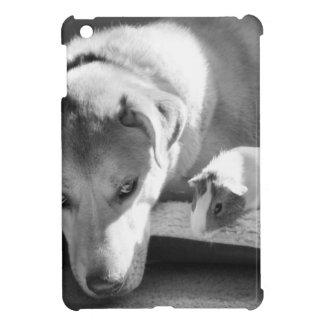 Hund och försökskanin iPad mini mobil skal