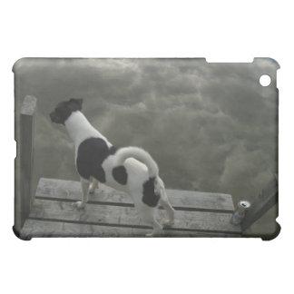 Hund överst av tak iPad mini fodral