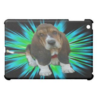 Hund Sheldon för Basset för Ipad fodralbaby iPad Mini Skydd