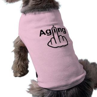 Hund som beklär åldras Flip Hundtröja