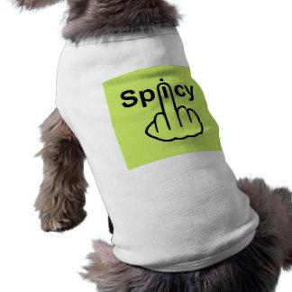 Hund som beklär kryddig Flip Hundtröja