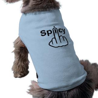 Hund som beklär kryddig Flip Husdjurströja