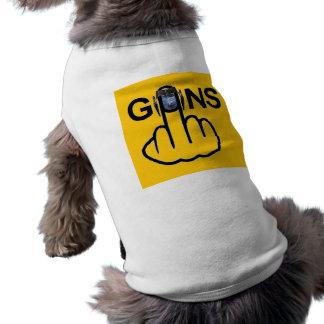 Hund som beklär vapenFlip Hundtröja