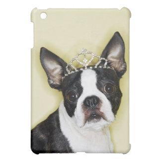 Hund som ha på sig tiaraen iPad mini mobil fodral