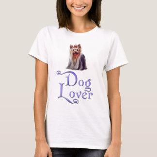 Hundälskare-yorkshire terrier t shirt