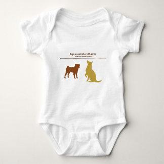 Hundar är mirakel tshirts