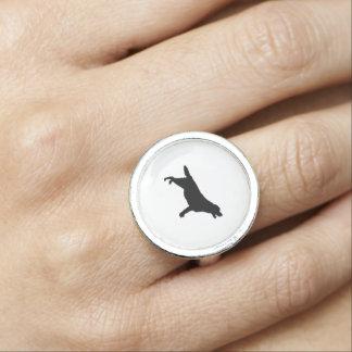 Hundar för kärlek för Silhouette för Labrador Ringar