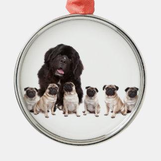 Hundar Julgransprydnad Metall