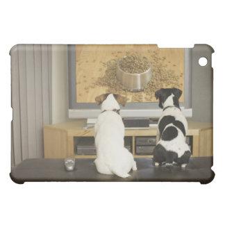 Hundar som håller ögonen på hunden att besegra med iPad mini skydd