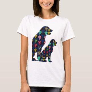 Hunden ÄLSKLINGS- LABRADOR pricker målad T Shirt