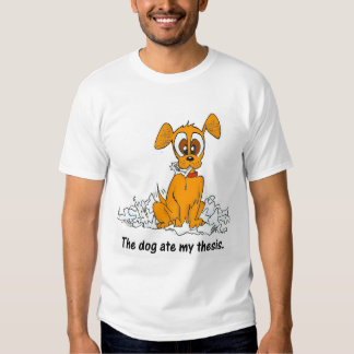 hunden åt mitt te t shirts