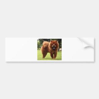 Hunden för ChowChow poserar Bildekal