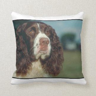 Hunden MoJo för Springerspanielen kudder Kudde