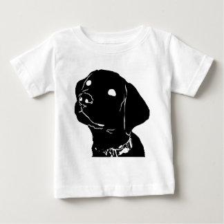 Hunden vägleder valpen t shirt