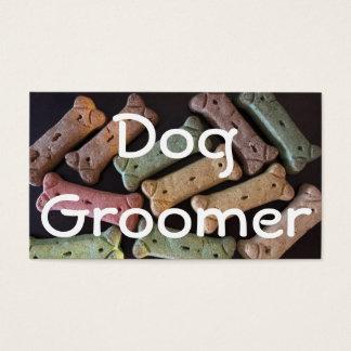 HundGroomerhunden benar ur visitkorten Visitkort