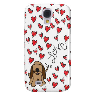 Hundhundkärlek Galaxy S4 Fodral